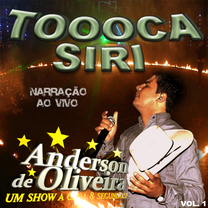 Download CD Anderson de Oliveira Toca Siri Narração Ao Vivo