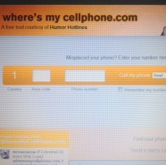 how to find my lost verizon cell phone