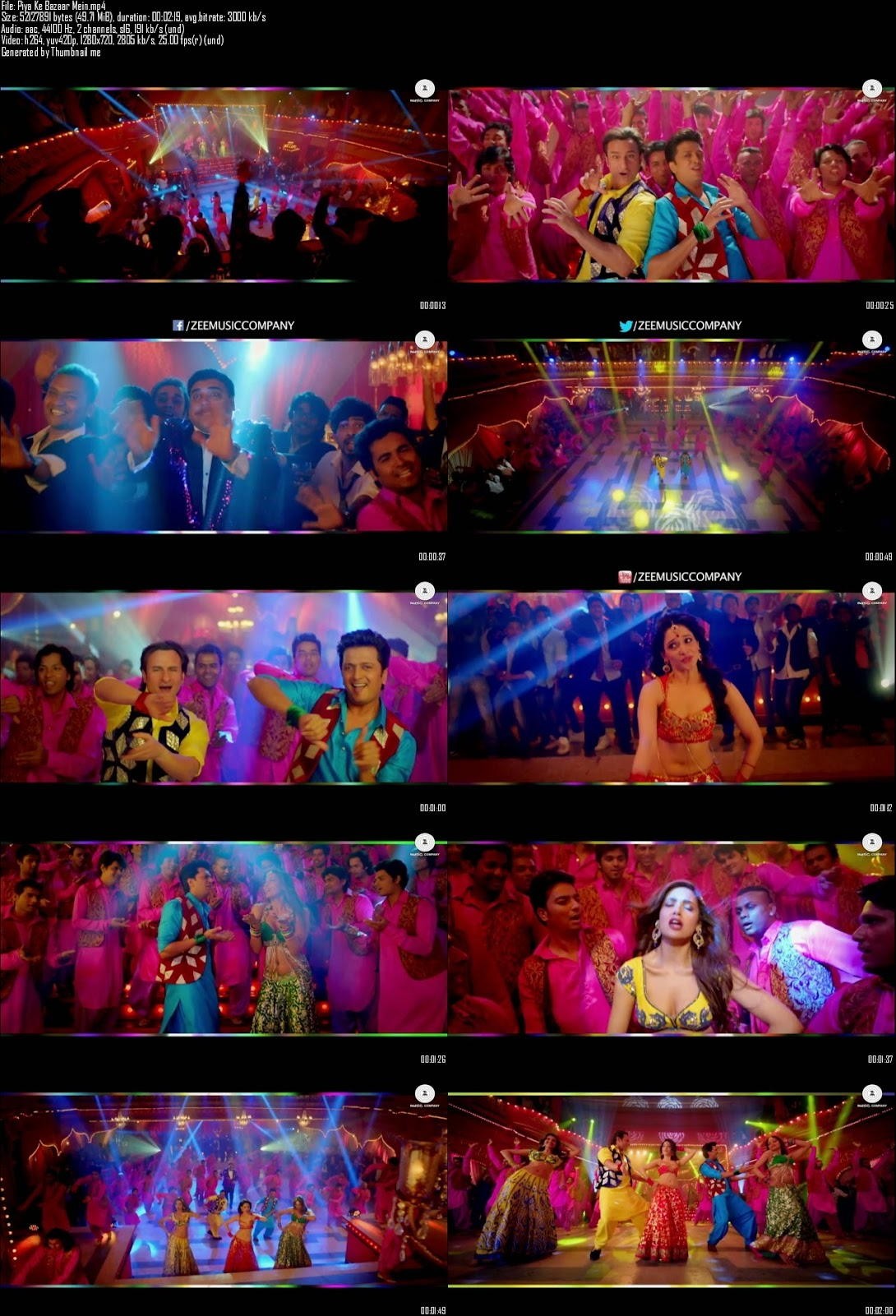 Mediafire Resumable Download Link For Video Song Piya Ke Bazaar Mein - Humshakals (2014)