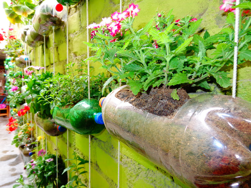 Ideas para todos reciclaje con botellas de pl stico for Ideas para todos
