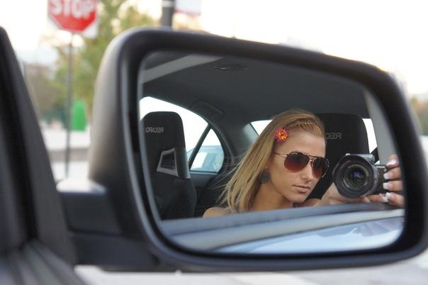 Фото через зеркало