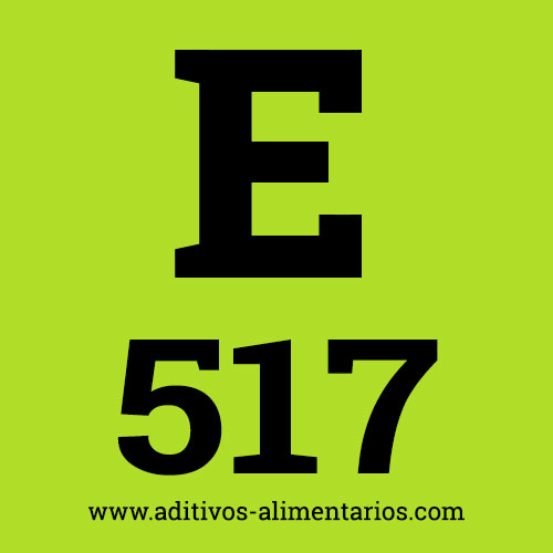 E517 - Sulfatos de Amonio