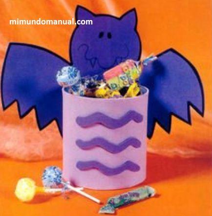 Dulceros para halloween en foami ~ Mimundomanual