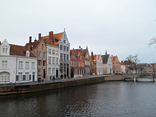 Bruges canal walk views