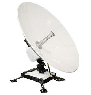Переносной VSAT терминал GCS PANTHER™ II с диаметром антенны 96 см
