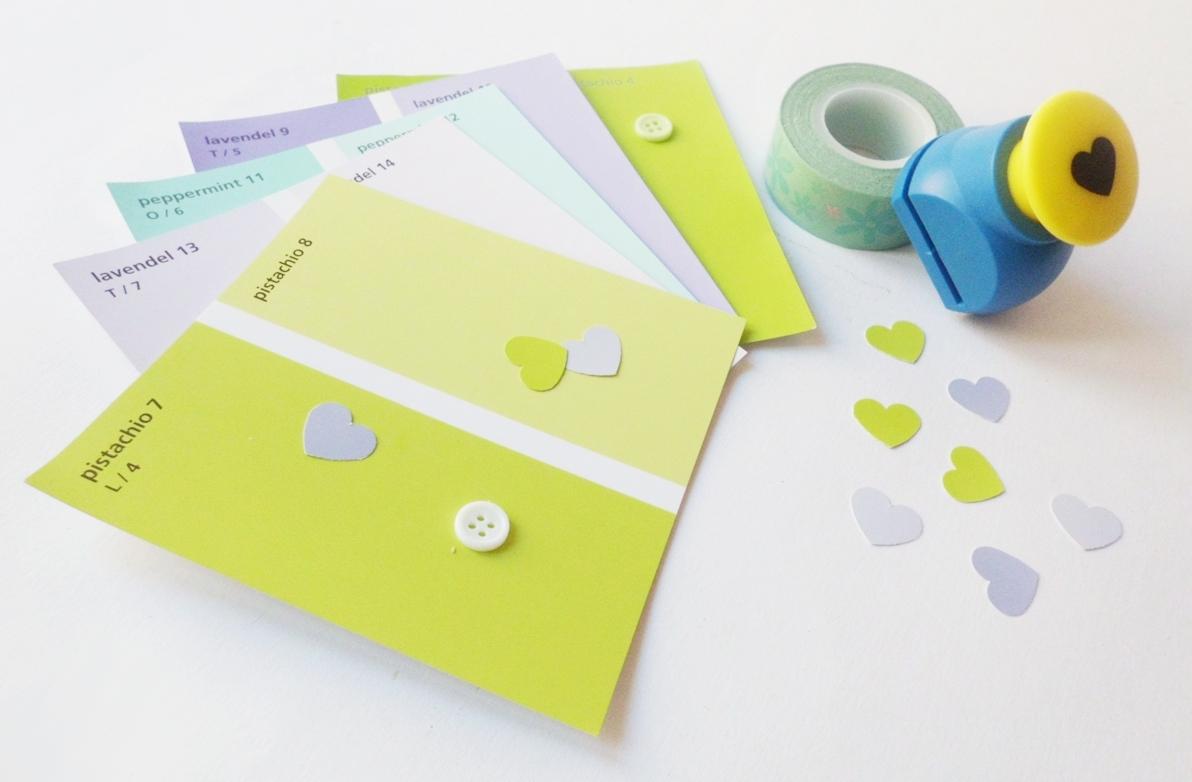 Kreativchaos basteltipp farbkarten for Farbkarten kostenlos