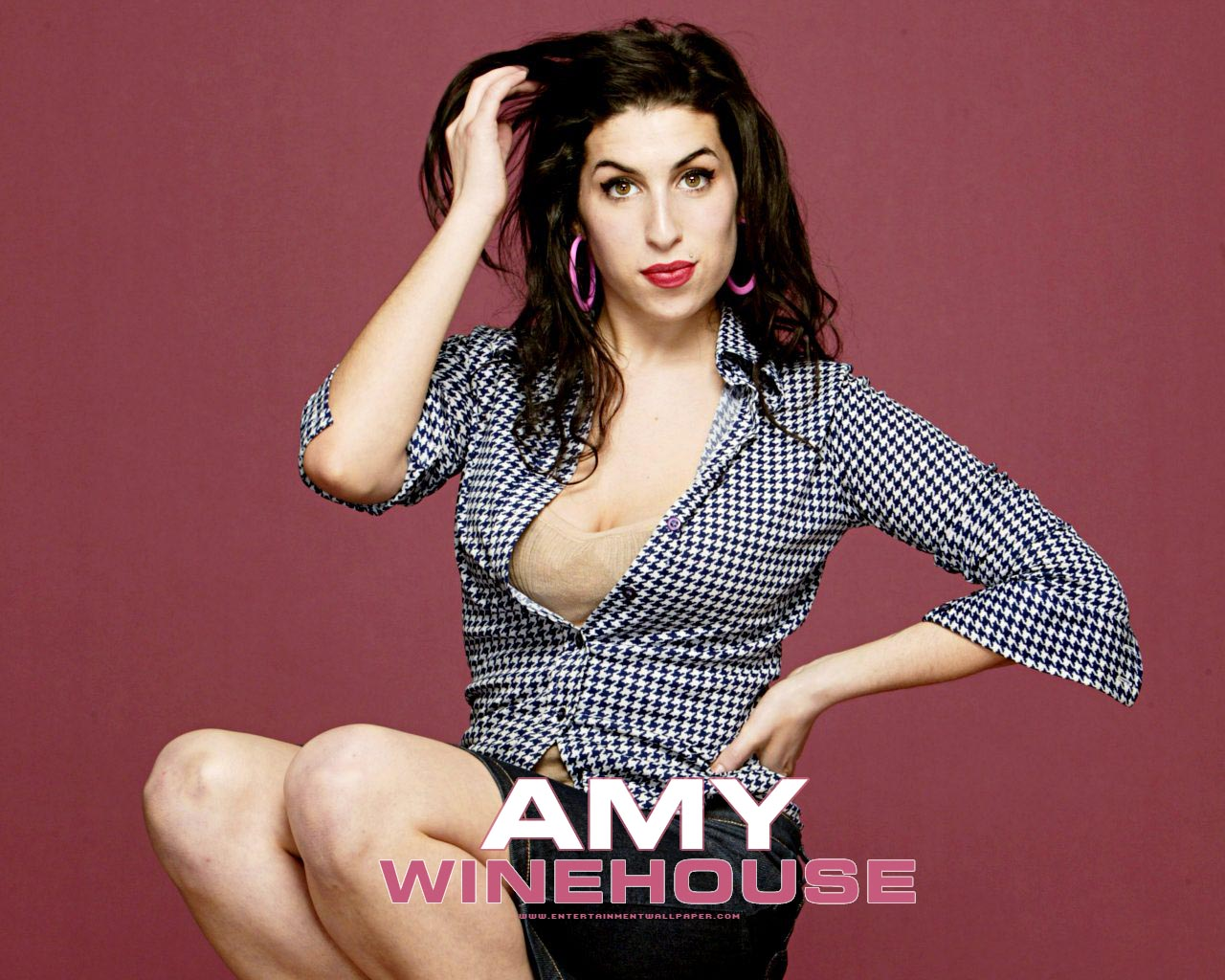 Grammy Award Winner AMY WINEHOUSE ranks No. 1