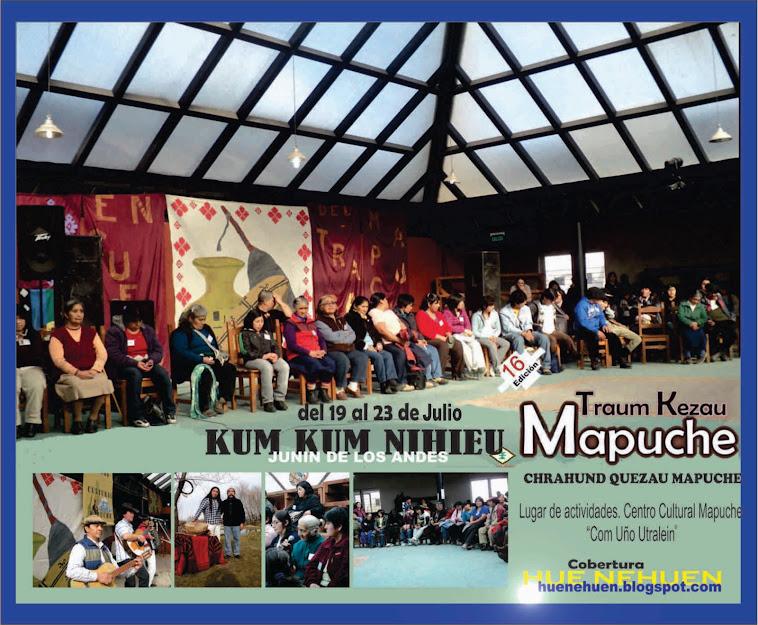 16 edicion del encuentro de artesanos Mapuche