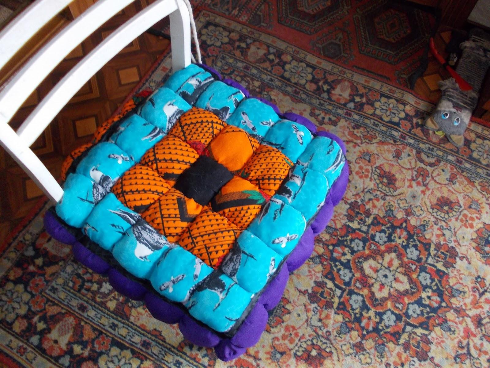 Подушки на стулья своими руками Круг мастеров 89