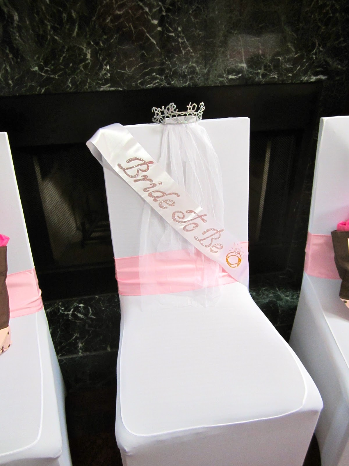 bridal shower bride to be chair