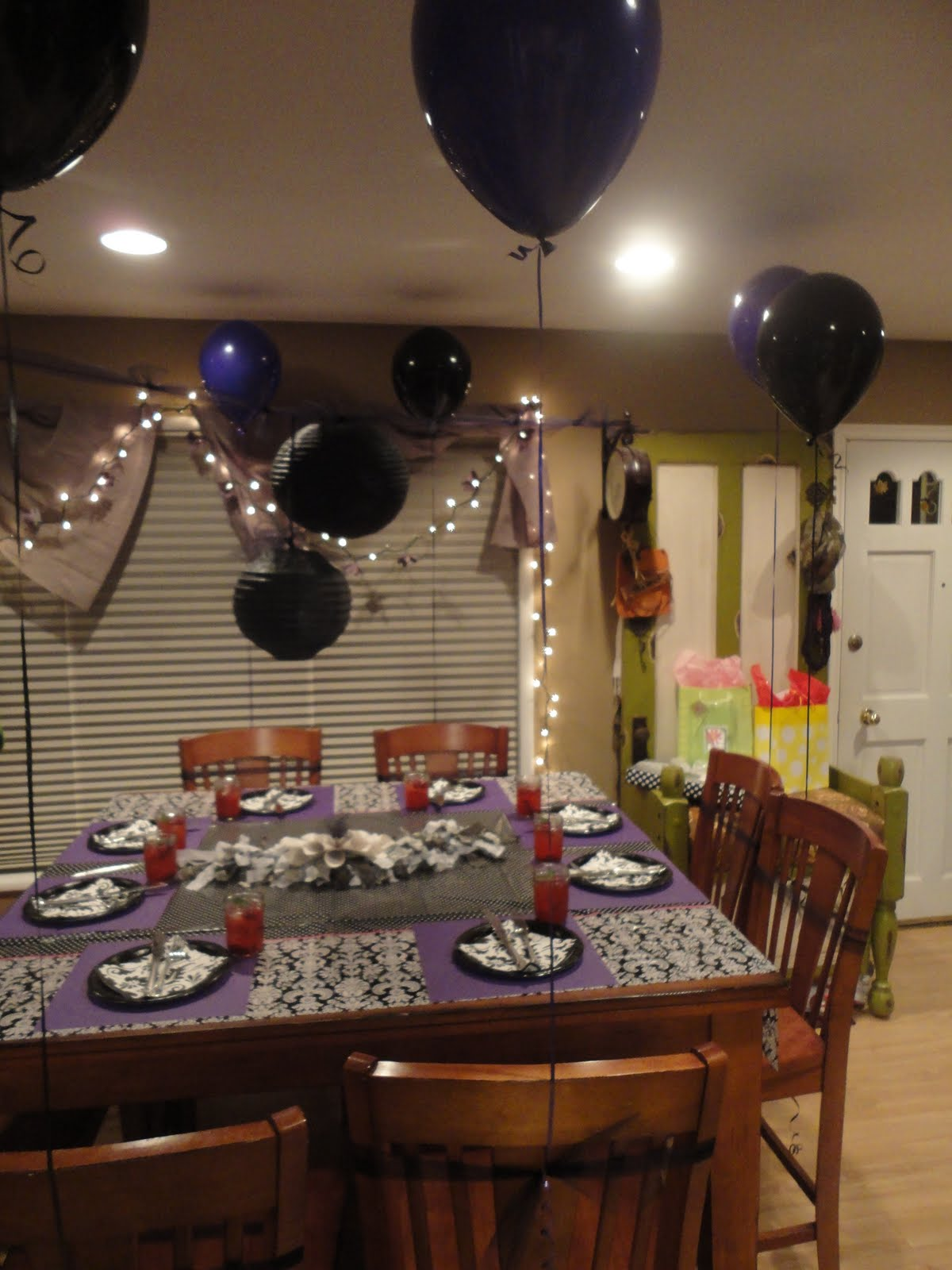 Talented terrace girls wild card wednesday 50th birthday for 50 birthday party decoration ideas