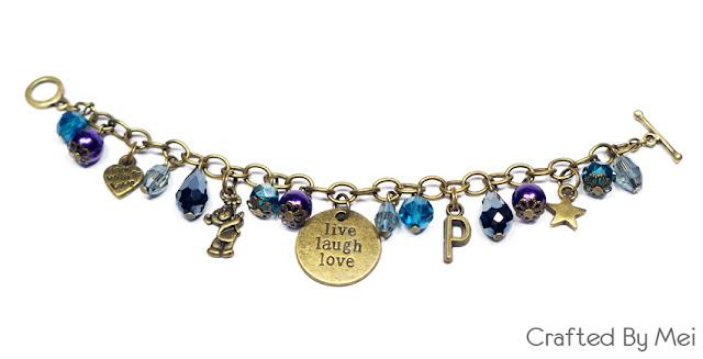 turquoise Beaded Charm Bracelets