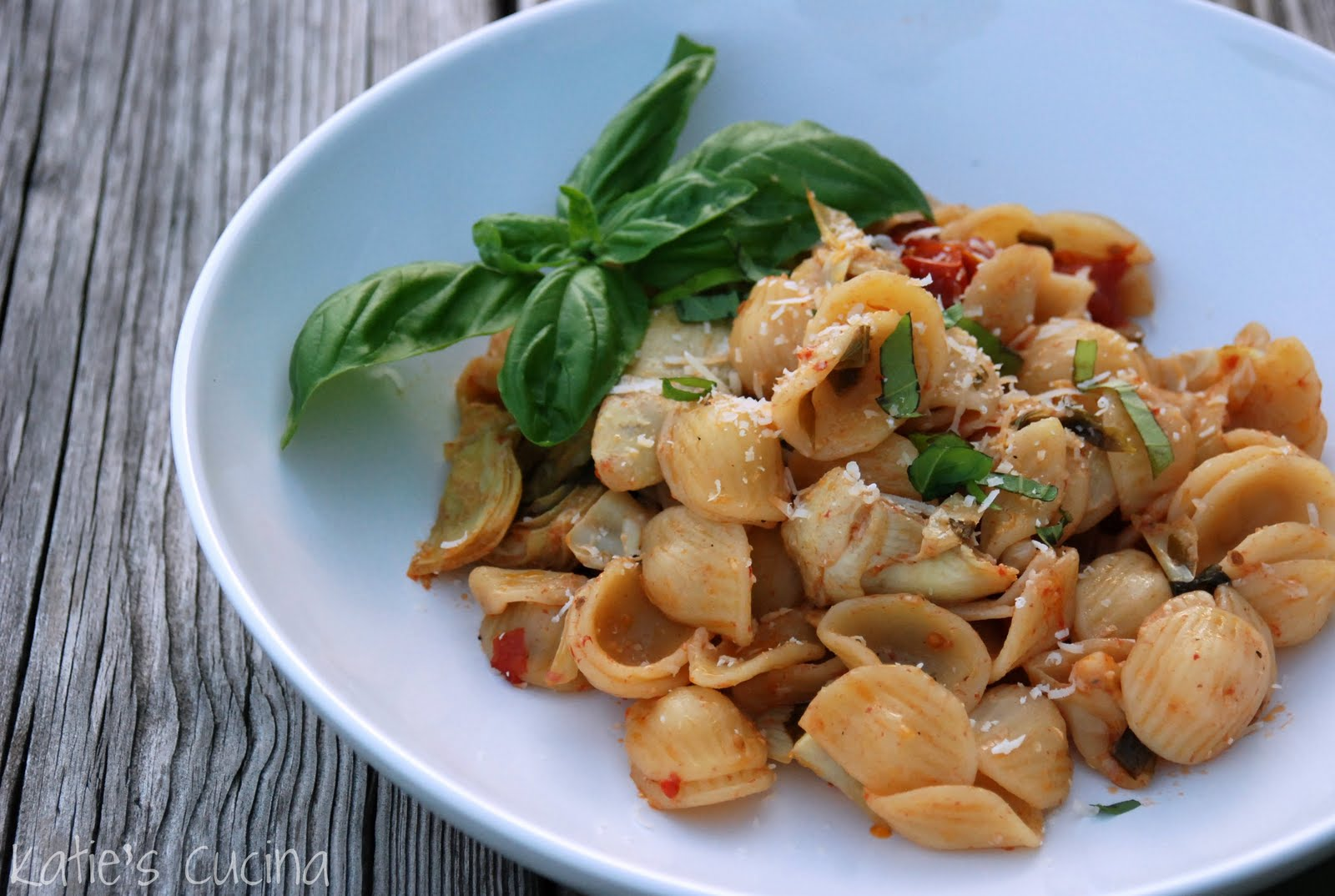 Orecchiette with Slow Roasted Tomatoes & Artichokes ...