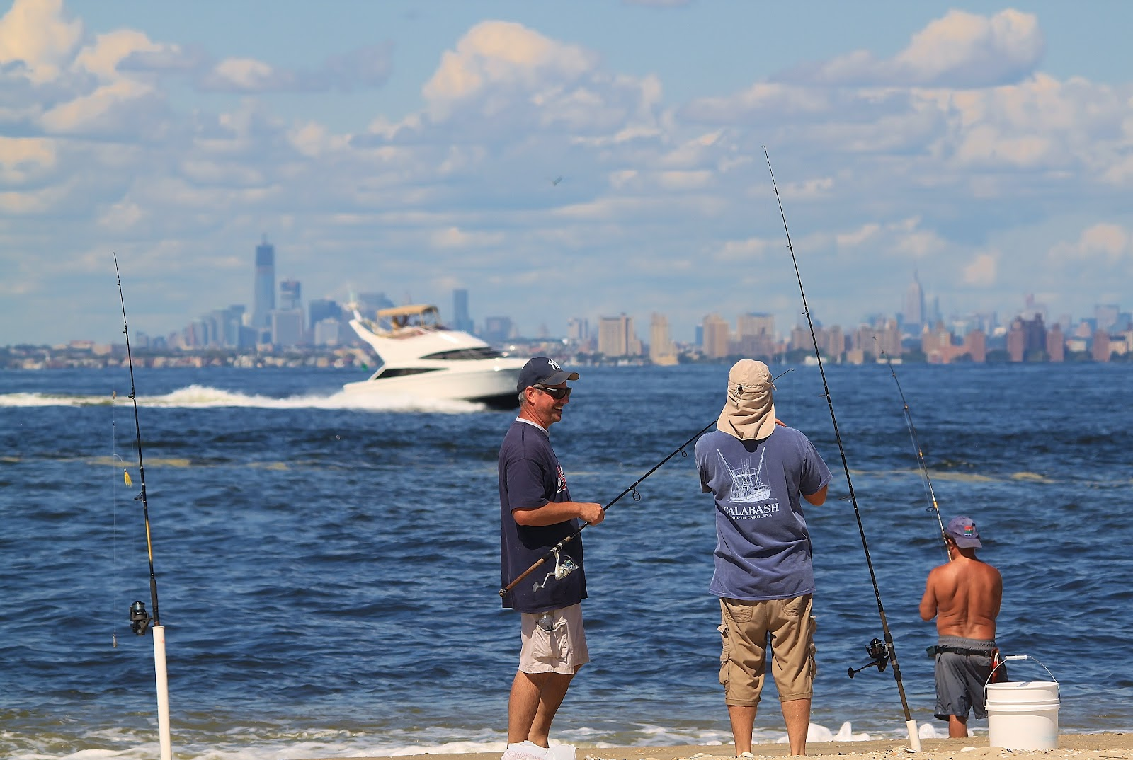 Fall fishing in new york harbor nature on the edge of for Fishing in new york city