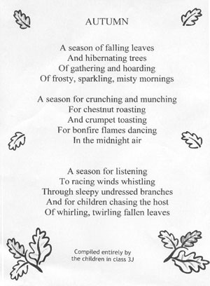 Poetry Autumn Quote With Goodreads