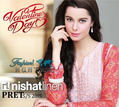 Nishat Linen Pret Collection 2015 For Valentine's Day