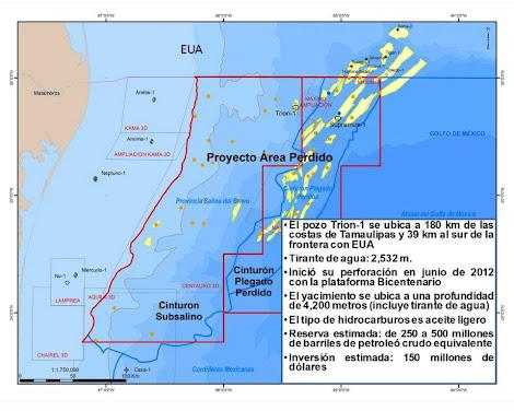 PEMEX- Descubre Petróleo en Aguas Profundas - Pozo Trión-1