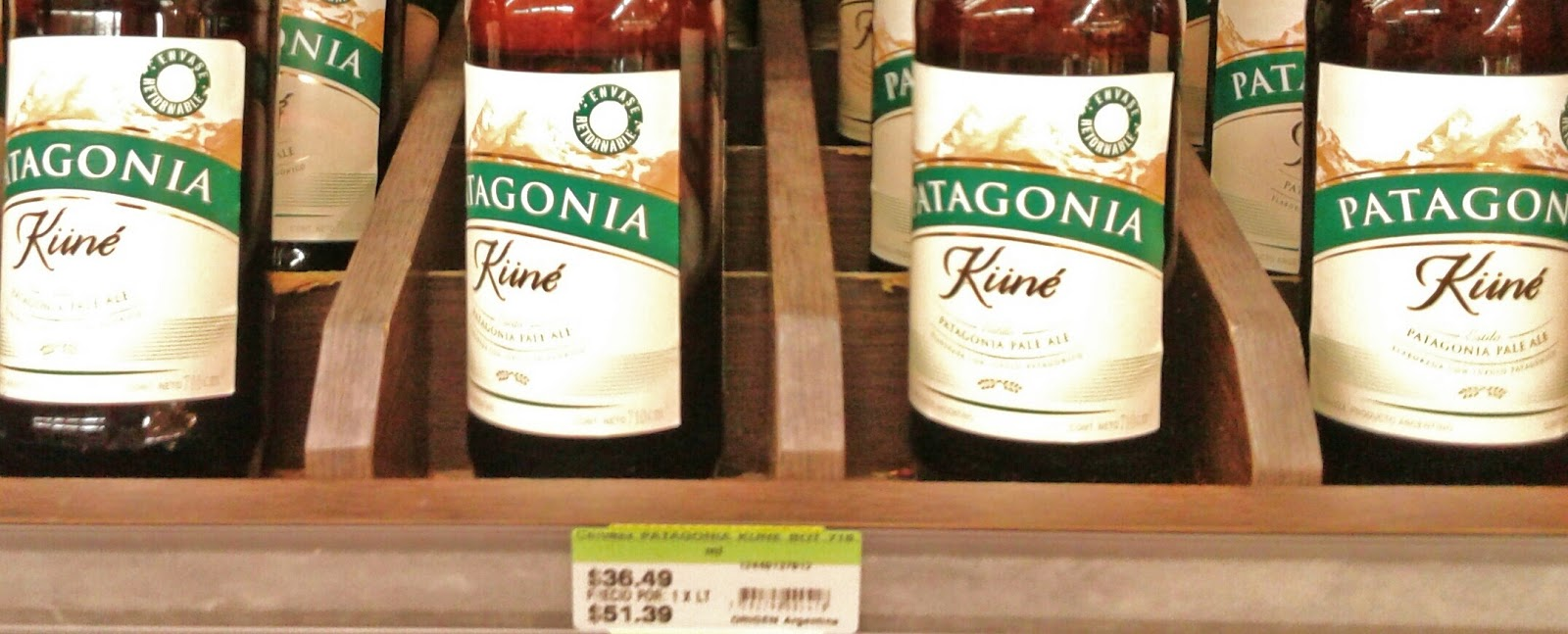 Cerveza patagonia kune