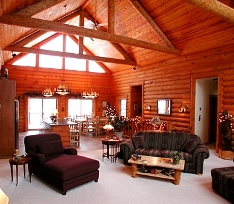 How To Decorate A Log Home