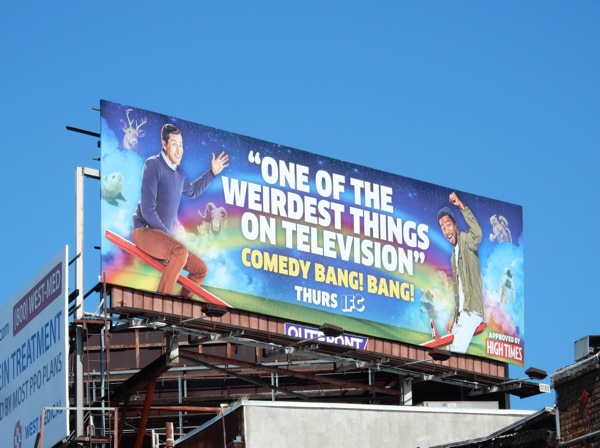 Comedy Bang! Bang! season 4 billboard