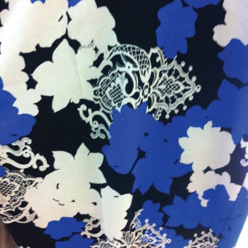 floral lace print