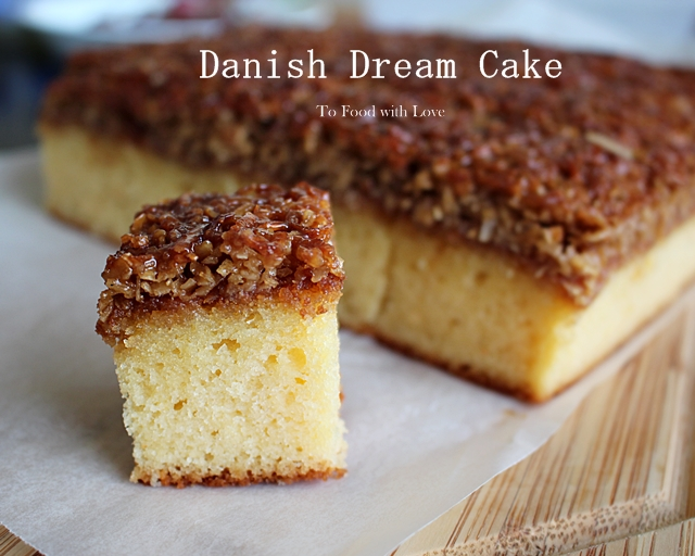 To food with love danish dream cake drmmekage danish dream cake drmmekage forumfinder Choice Image