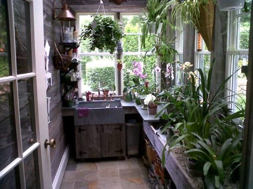 Greenhouse Kitchen/ Utility Room