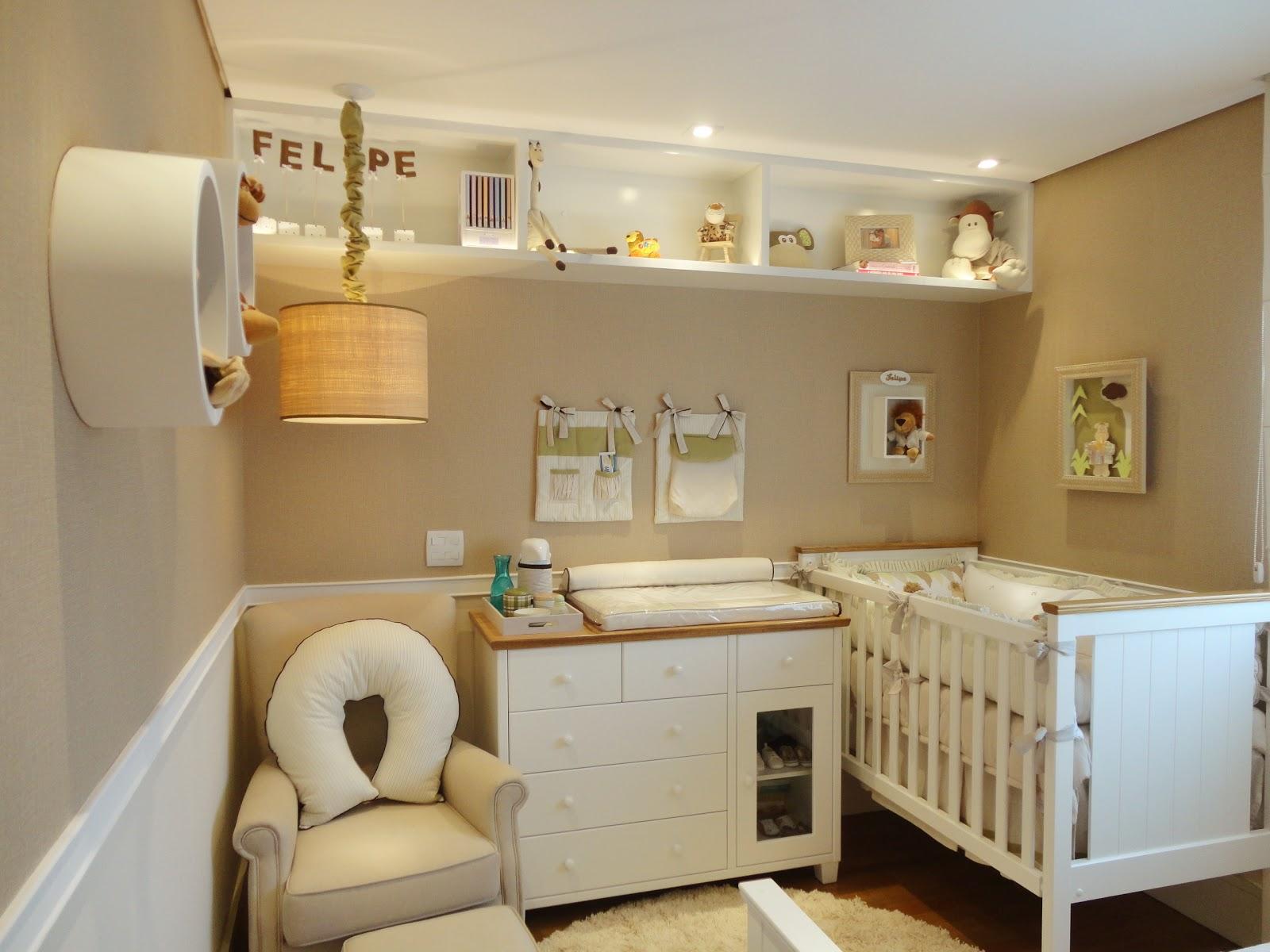Studio Casa Mix Projeto Quarto de bebê ~ Wallpaper Quarto De Bebe