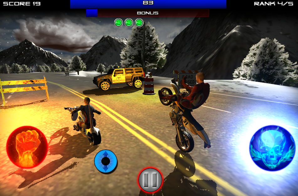 Race Stunt Fight 3 Mod Apk