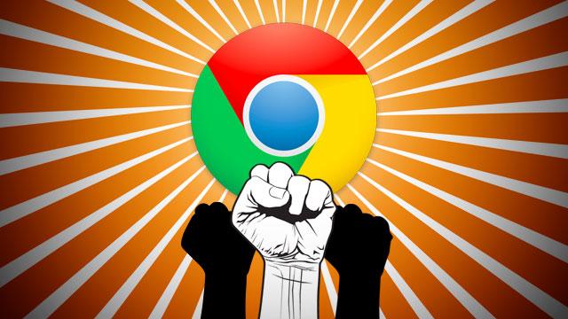 حل تشنج جوجل كروم