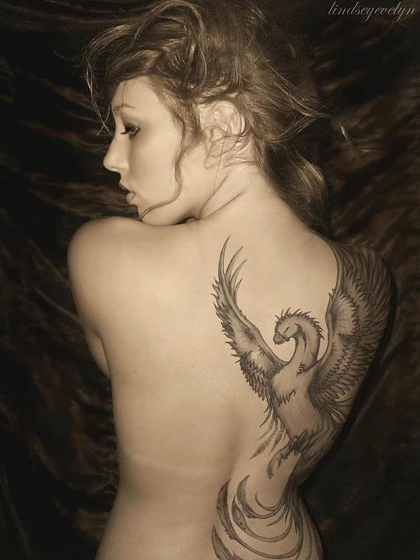 Simple Bird Tattoo For Men