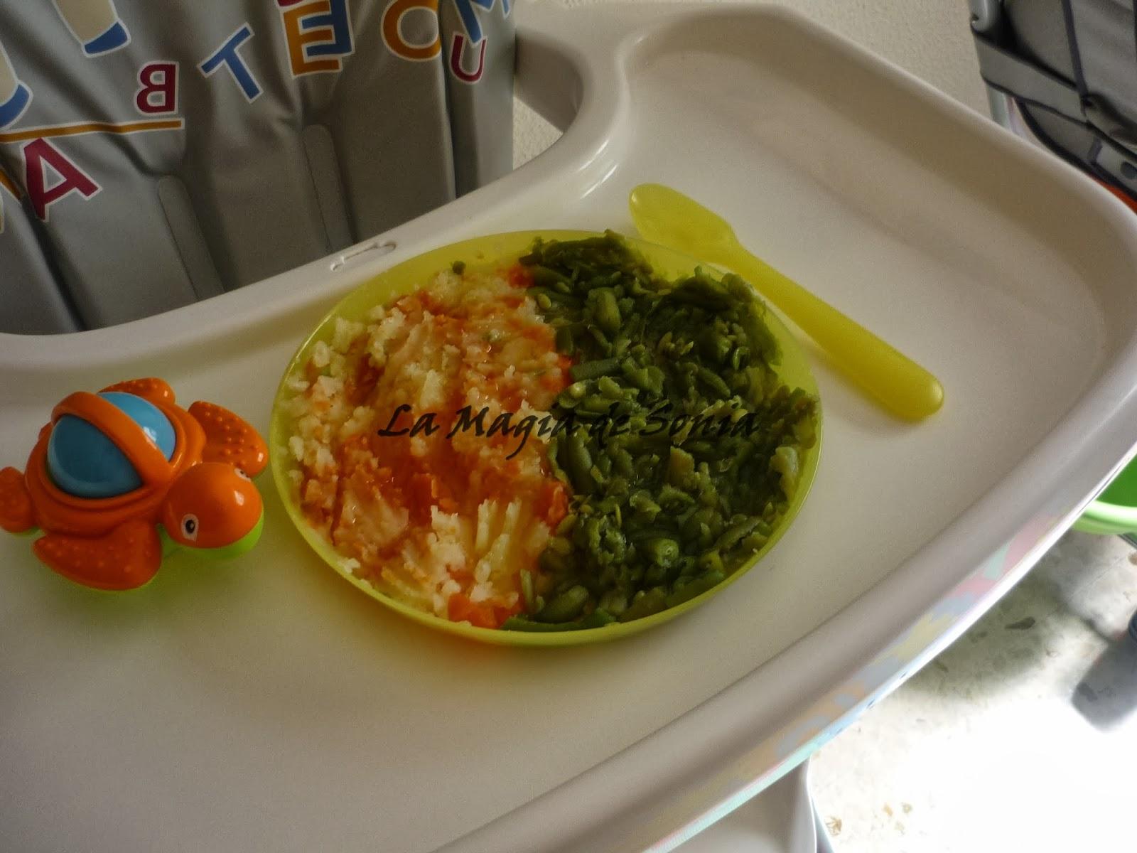 La magia de sonia baby cenas hervido de jud as verdes - Cenas para bebes de 15 meses ...