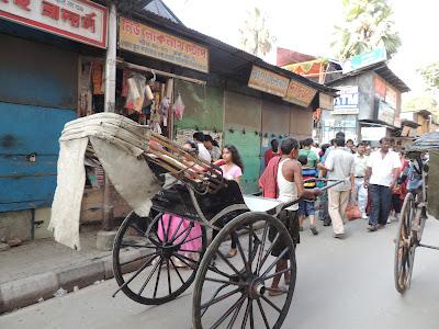 Hand pulled Rickshaw