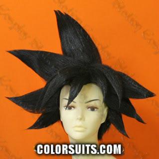 peruca do goku