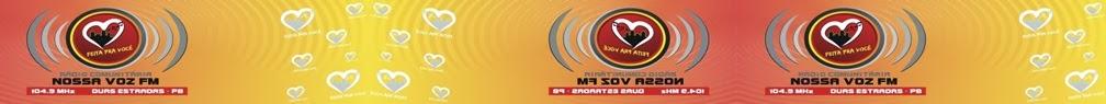 Nossa Voz FM 104,9 Mhz