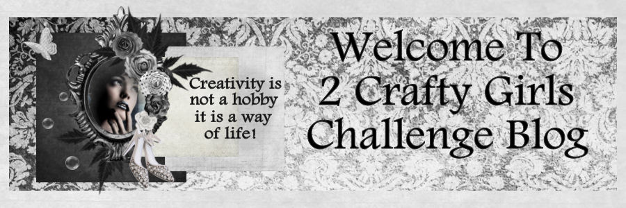 2 Crafty Girls Challenge Blog