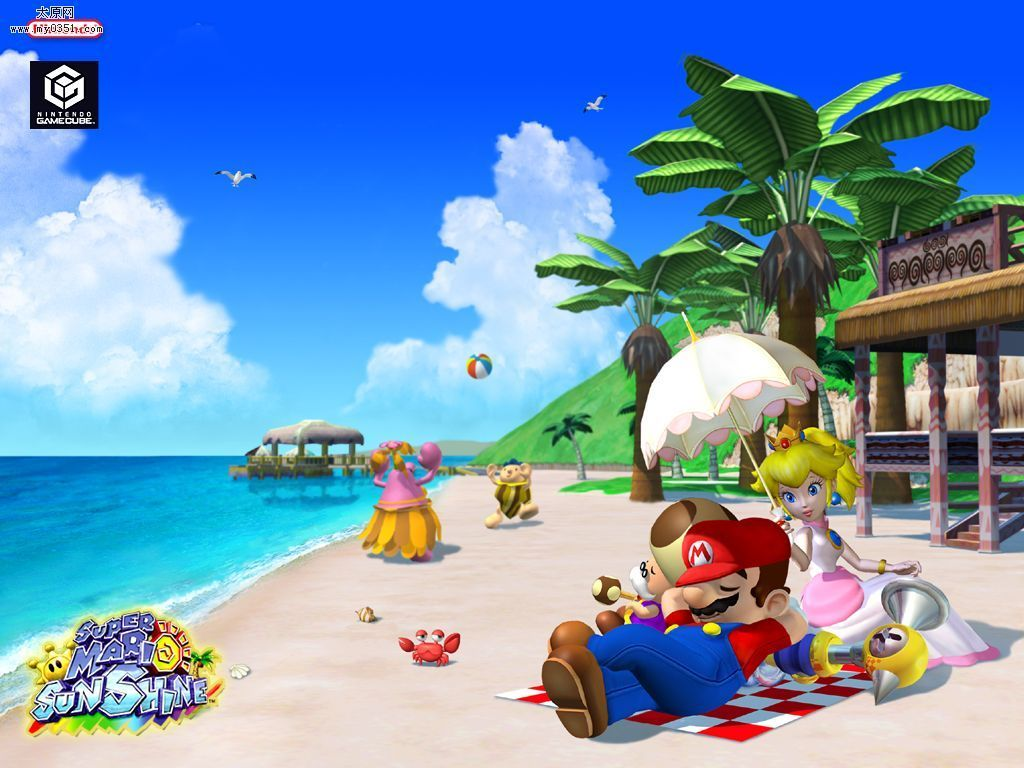 Super Mario HD & Widescreen Wallpaper 0.923108089668346
