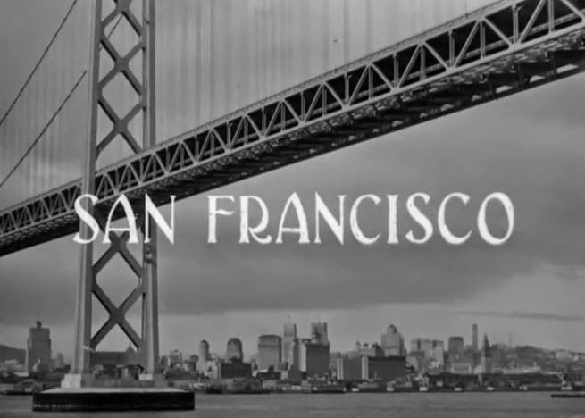 San Francisco in The Maltese Falcon (1941)