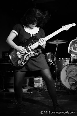 Screaming Females at The Garrison, November 4, 2015 Photo by John at One In Ten Words oneintenwords.com toronto indie alternative music blog concert photography pictures