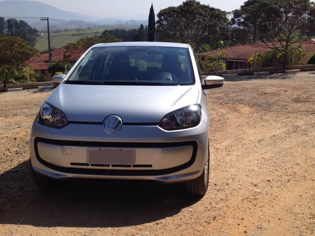 Volkswagen up! - consumo de gasolina
