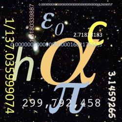 Resultado de imagen de Alfa y el número 137 constante de estructura fina