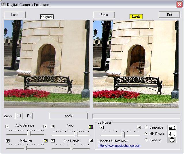 Free Digital Camera Enhancer