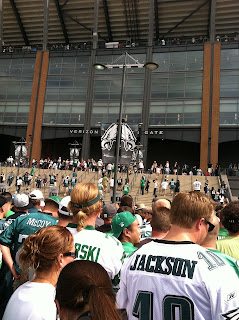 One Giant Step Backwards – Eagles Lose Home Opener to New York