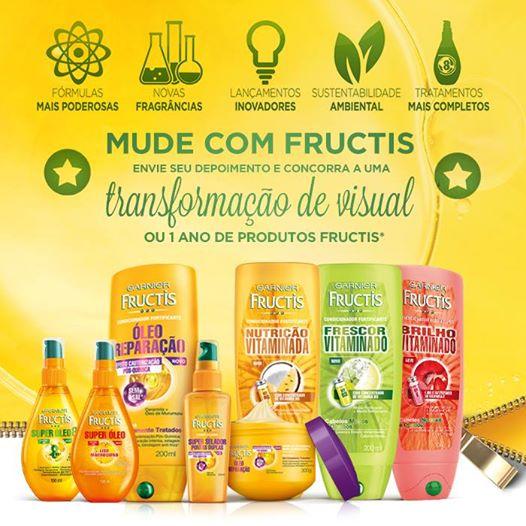 Participar promoção Mude com Fructis
