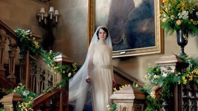 Lady Mary's wedding dress