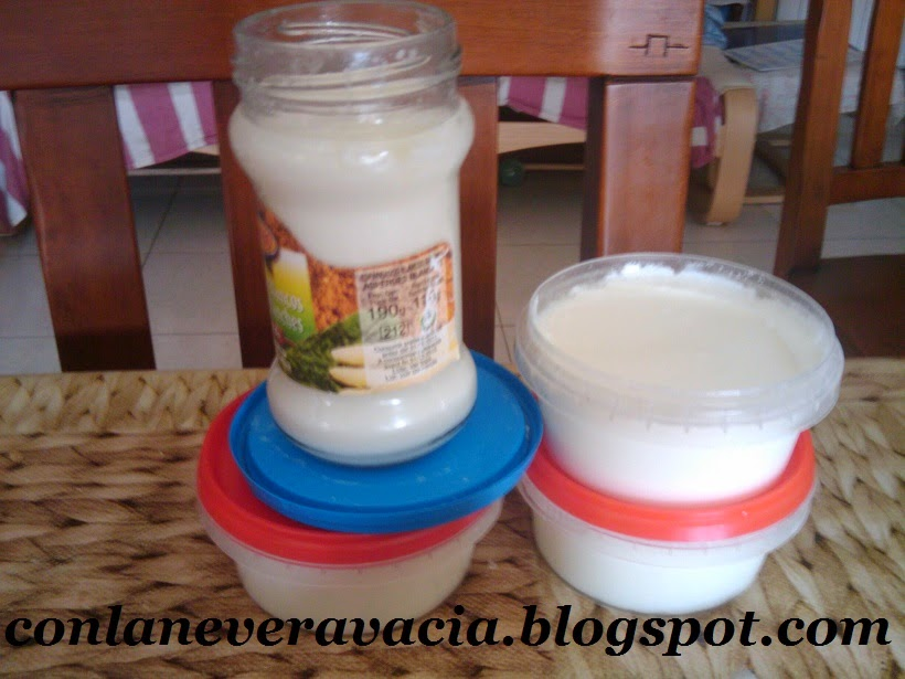 Yogurt Casero, Casero