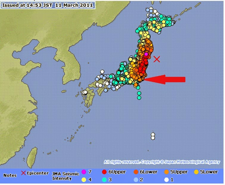 SIMPLE SOLUTIONS FOR PLANET EARTH AND HUMANITY TWO BANEFUL DAYS - Japan quake map 2016