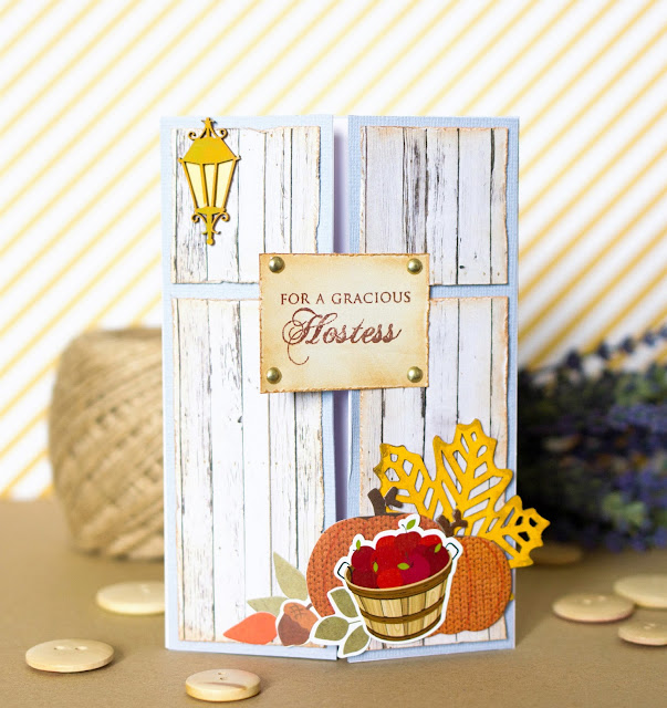 Autumn card by @pionizglini #fall #autumn #card