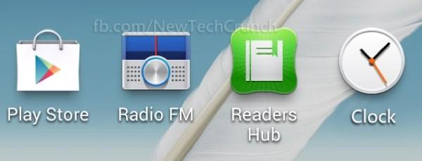 galaxy s3 fm radio