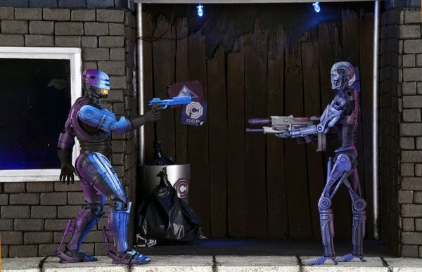 NECA - Terminator vs Robocop Video Game Figures - Endoskeleton 2-Pack - Toys R Us Exclusive
